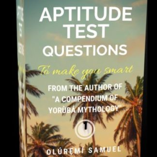 Aptitude test to make you smarter Volume 1
